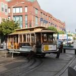 De berømte og hyggelige sporvogne i San Francisco